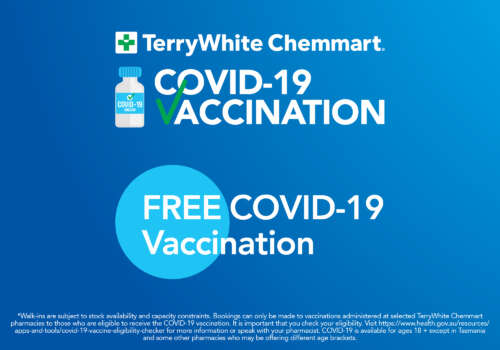 COVID-19 Vaccine at Terry White Chemmart